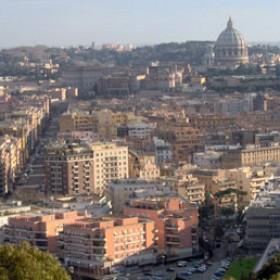 Via della Giuliana - Panoramic view